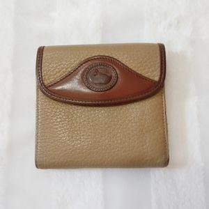 Dooney & Bourke Vintage tri-fold leather wallet